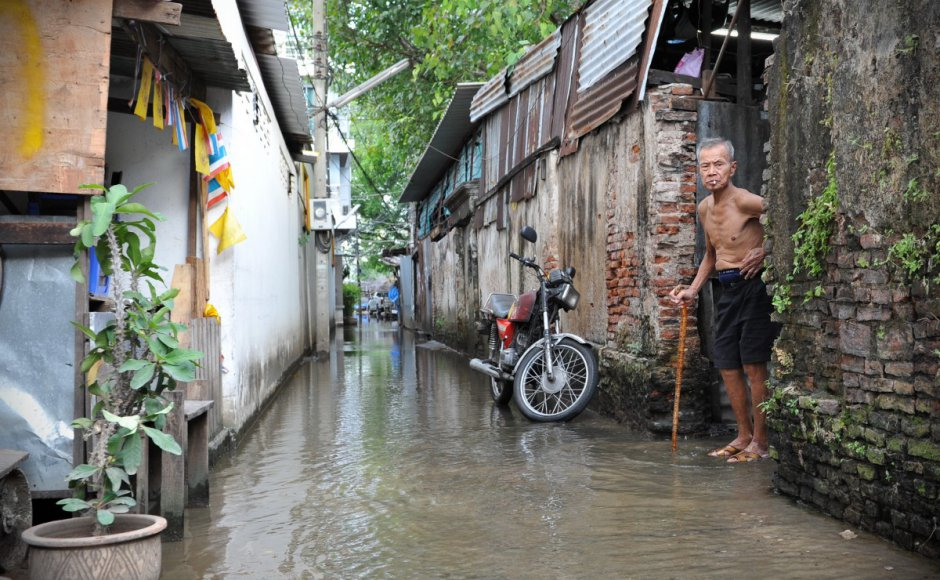 In 2011, Bangkok was hit by its worst flooding in half a century. Source: Shutterstock
