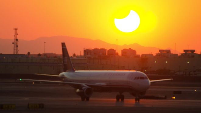 In June, dozens of flights from Phoenix, Arizona, were cancelled during a heat wave
