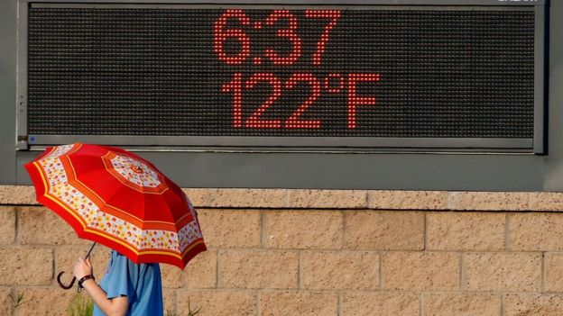 Global warming could mean temperature readings like this get more common