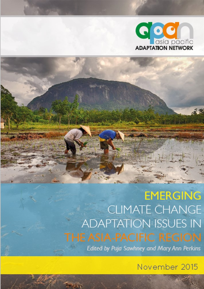 climate change an emerging issue in