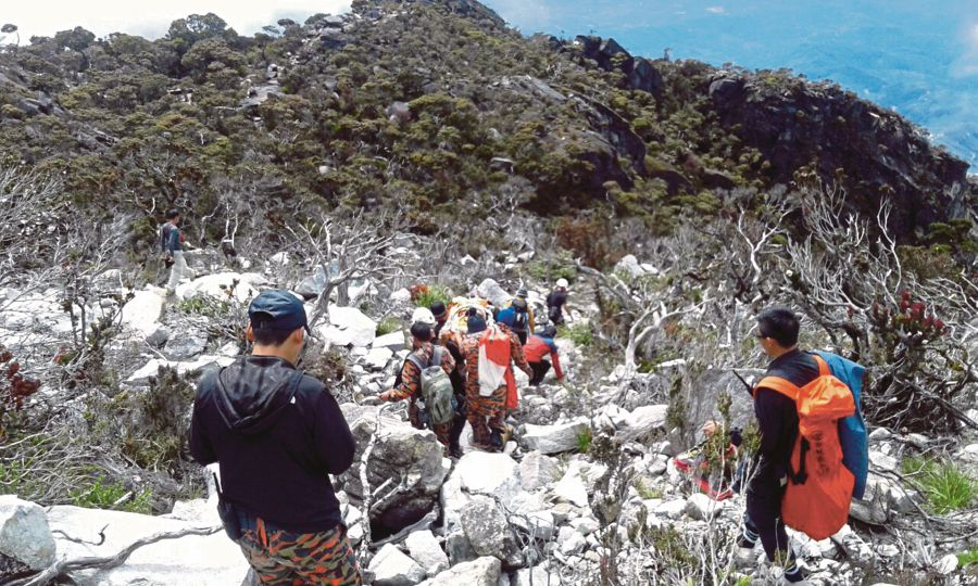 Malaysia has its share of natural disasters, such as the earthquake at Mount Kinabalu in 2015.