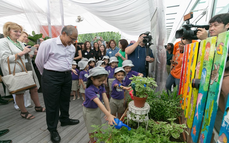 Minister Masagos Year of Climate Change Action