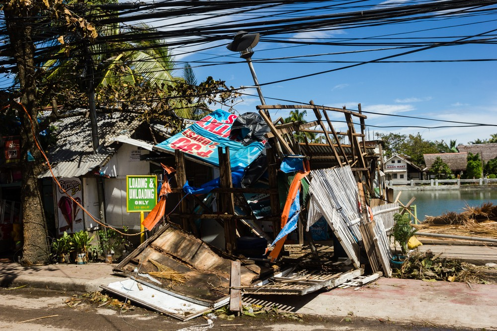 After Typhoon Haiyan ravaged the Philippines, the power sector was one of the hardest hit as 90 per cent of the transmission towers and electricity poles were either toppled or broken in the disaster region. Image: Richard Whitcombe / Shutterstock.com