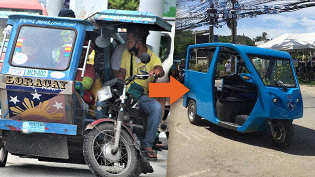 By August 2018, only electric tricycles will be allowed to ferry passengers in Boracay as part of the Malay municipal government's bid to promote environment-friendly public transportation.