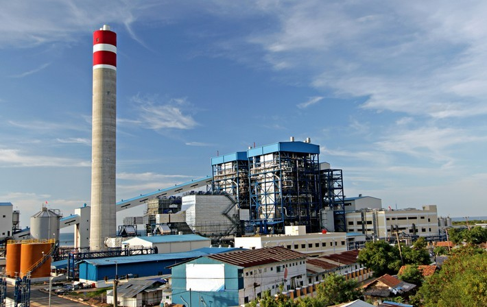 New coal-fired power plant, Indonesia. Despite dire environmental consequences the Indonesian government and industrial partners will go ahead with the construction of the coal-fired power plant in Batang. Image: cpaulfell / Shutterstock.com