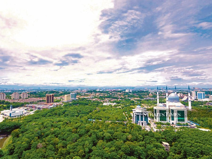 The Shah Alam City Council which aims to achieve its goal of being a low carbon city by 2030 reflects Malaysia's stance in advocating and promoting sustainable development. FILE PIC