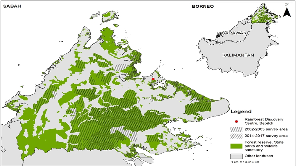 The authors undertook an intensive aerial survey of orangutan nests in Sabah to assess the change in population. [Changes to Sabah's orangutan population in recent times: 2002–2017] [PLoS ONE 14(7)/ Al Jazeera]