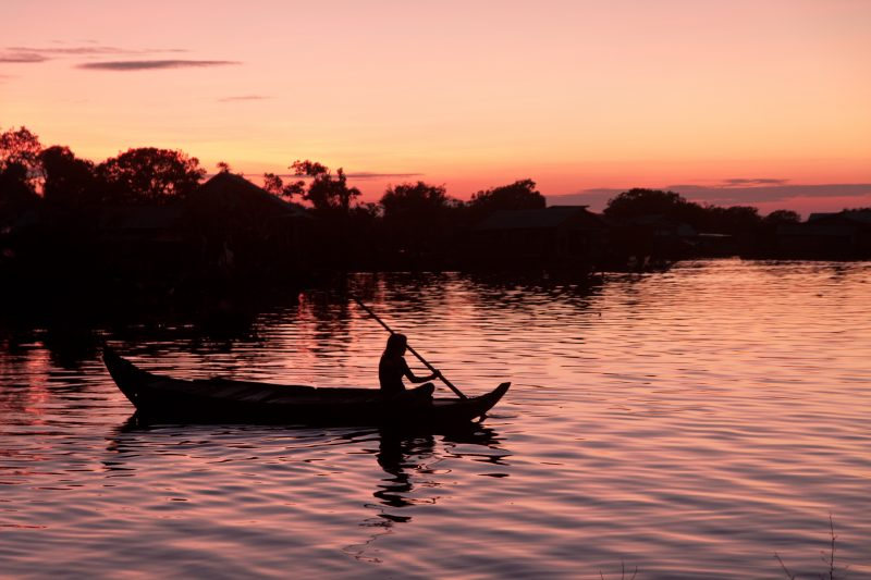 Tonle Sap Lake, Cambodia. (© Conservation International/photo by Koulang Chey)