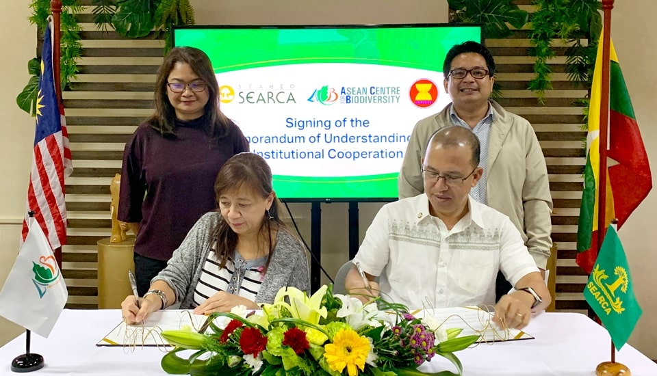 searca asean center renew ties mainstream biodiversity agriculture 01