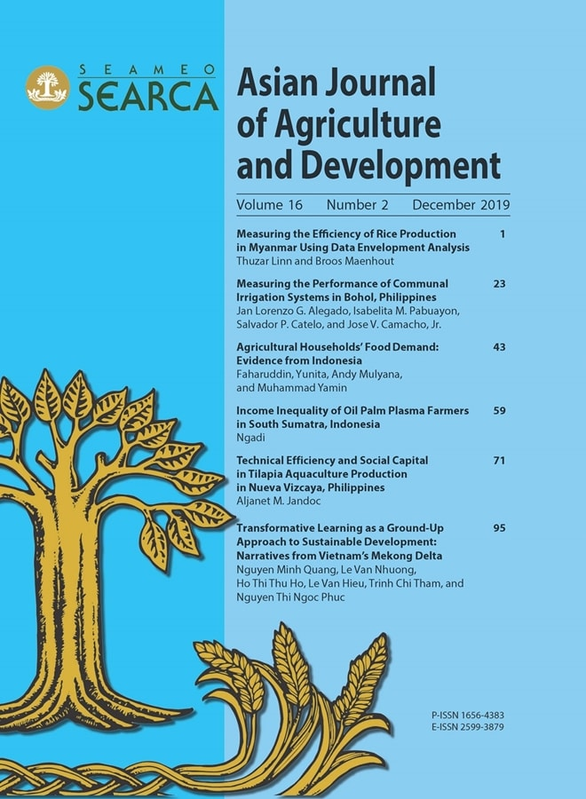 searca scientific journal steps up global challenges agricultural development 01