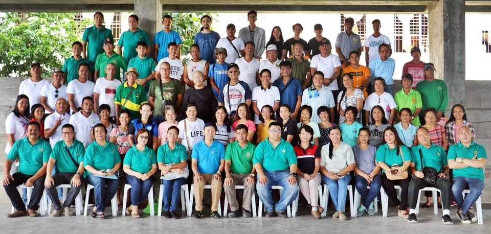 Participants, resource persons, and organizers of the launch of the Sustainable Gardening Project on 31 August 2019