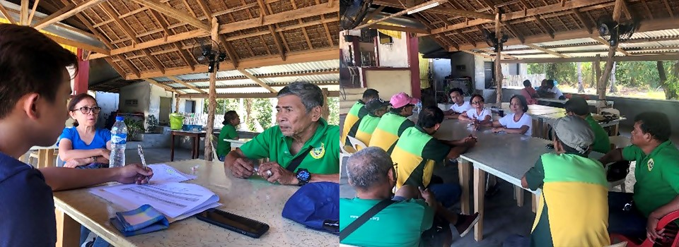 Focus group discussion (FGD) with calamansi farmers in Victoria, Oriental Mindoro