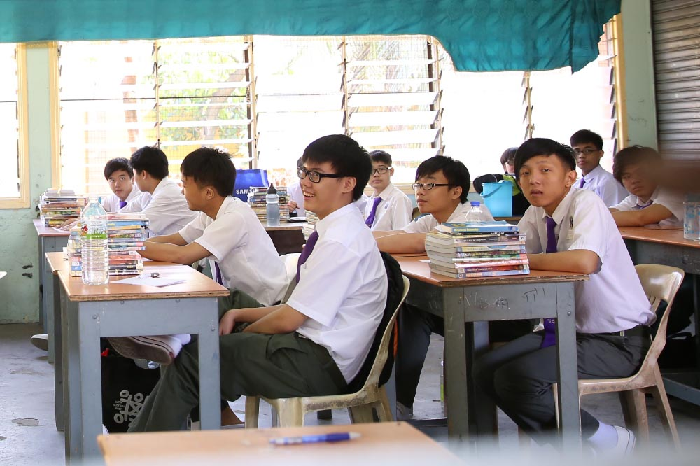 Recent study has found that Malaysian students are motivated to make a difference with 94 per cent of them saying they take some form of individual action to tackle their top issue of concern. — File picture by Saw Siow Feng