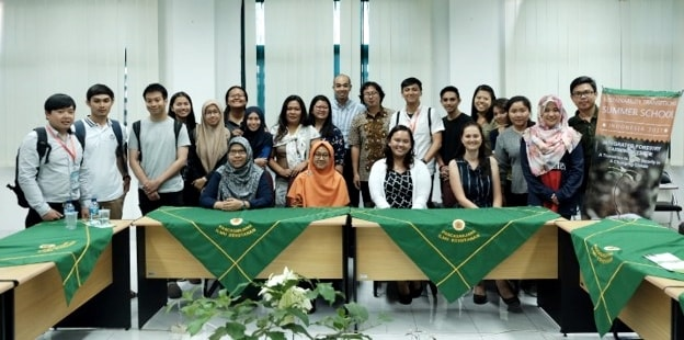 The first batch of MS FSCC dual/double degree students in 2017. Eleven (11) students coming from Indonesia, Lao PDR, Malaysia, the Philippines, and Thailand took the MS FSCC degree program while six (6) students underwent the MS FSCC non-degree program. Two (2) more groups were deployed in 2018 and in 2019 to take the program.