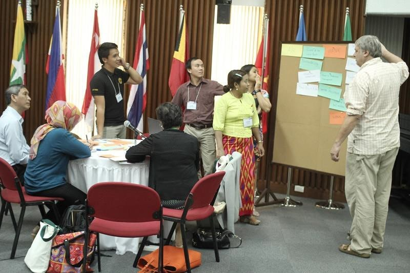 The Regional Roundtable Discussion and Workshop on the Development of an Ecological Monitoring Network in Southeast Asia attended by participants from Cambodia, Indonesia, Lao PDR, Malaysia, Myanmar, Timor Leste, Thailand, Vietnam, and the Philippines. The activity was jointly organized by SEARCA, Economy and Environment Program for Southeast Asia (EEPSEA) and FSC