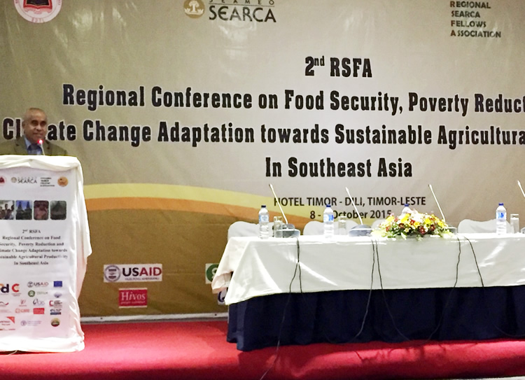 searca-alumni-spearheads-confab-on-food-security-and-climate-change