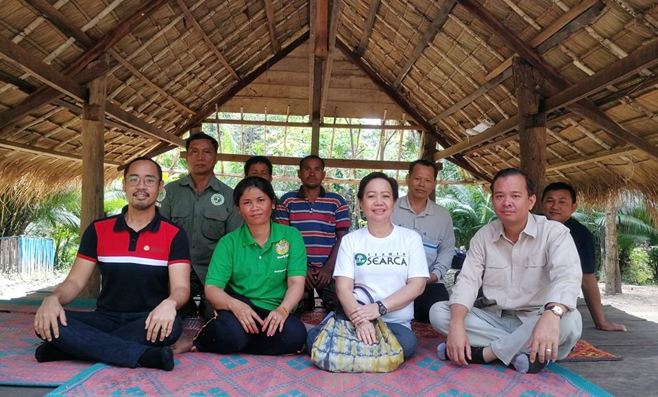 SEARCA-ASRF, the project team, and members of the Changkran Roy Community-based Ecotourism site.