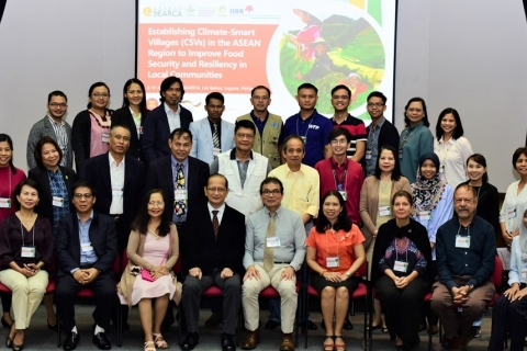 SEARCA, CCAFS, and IIRR-led roving workshop features best practices in climate-smart agriculture in Guinayangan, Quezon