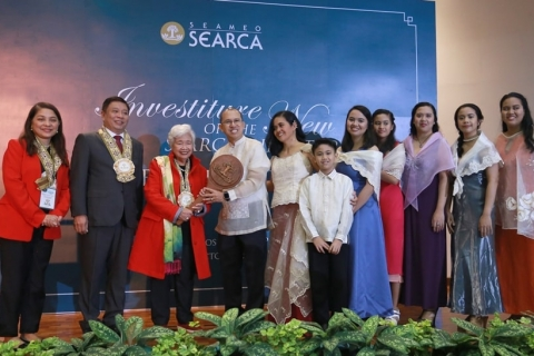New SEARCA Director advocates strengthening academe-industry-government interconnectivity for agricultural development