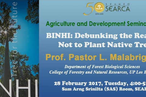 ADSS: BINHI: Debunking the Reasons Not to Plant Native Trees