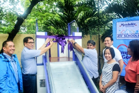 Recycled plastic play areas unveiled