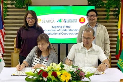 SEARCA and ASEAN center renew ties to mainstream biodiversity in agriculture