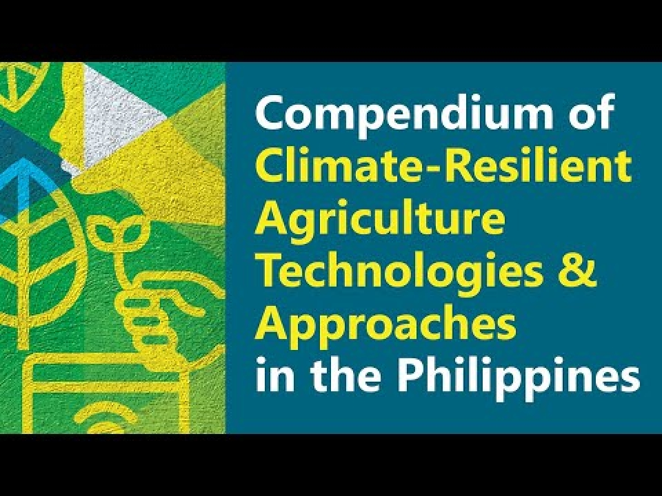 ADSS and BOOK LAUNCH: Climate-Resilient Agriculture Technologies and Approaches in the Philippines