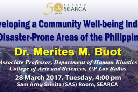 ADSS: Developing a Community Well-being Index in Disaster-Prone Areas of the Philippines