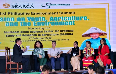 Young agri-env't champions take center stage at the 3rd PH Environment Summit