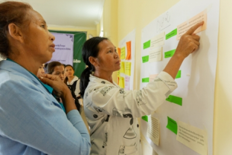 Learning to lead: Women take action for community-based disaster risk reduction in Cambodia