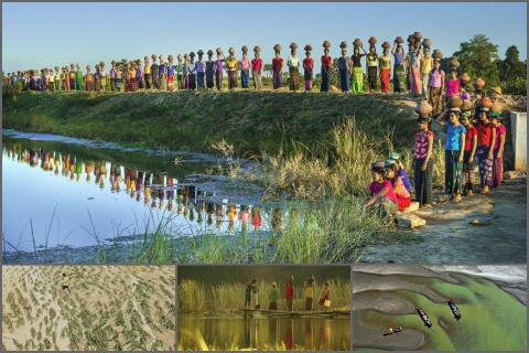 """Water donation"" photo bags first prize in Southeast Asian photo contest"
