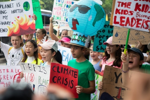 """No one is too young to make a difference"": stories from the global climate strike"