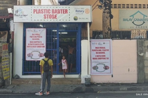 Eco-friendly Cebu City store lets people trade plastic trash for food, goodies