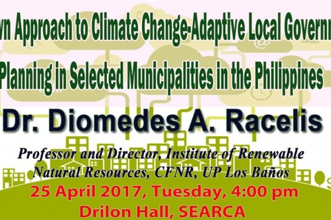 Ecotown Approach to Climate Change-Adaptive Local Government Planning in Selected Municipalities in the Philippines