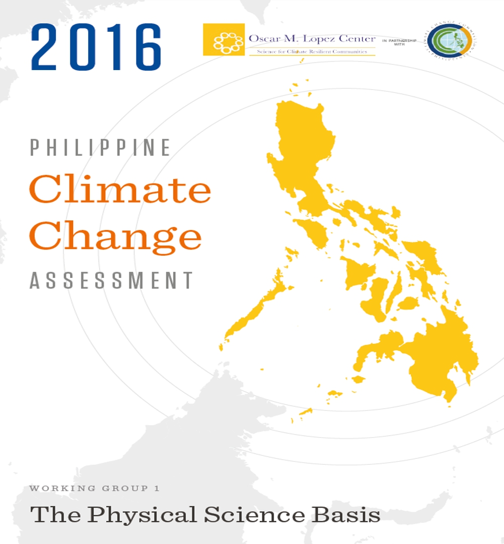 Philippine Climate Change Assessment Working Group 1: The Physical Science Basis