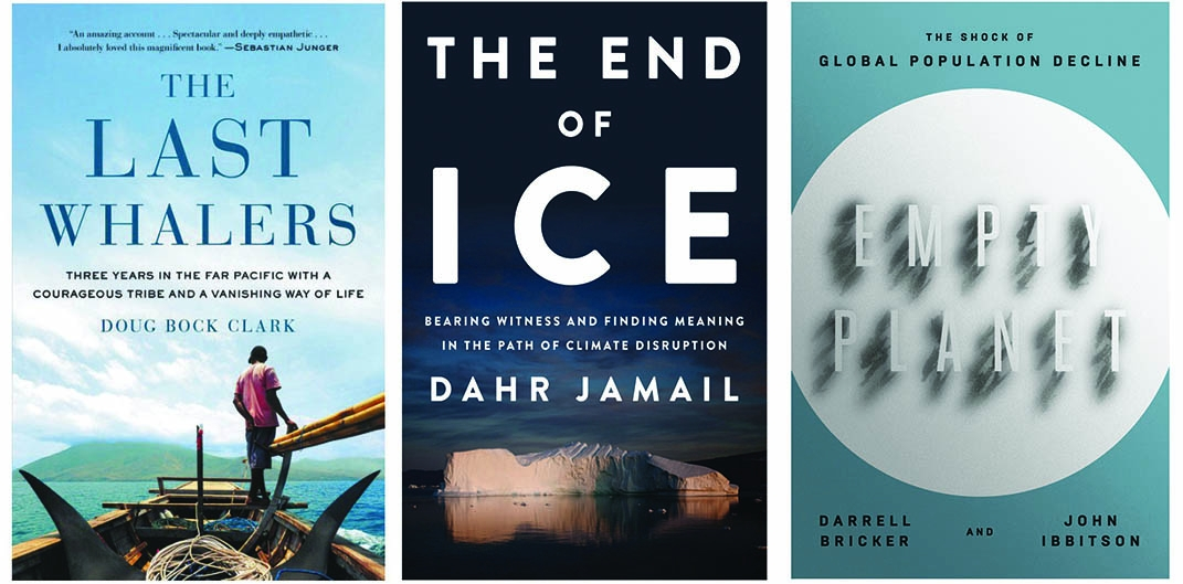 Three Books Examine Our Changing Earth