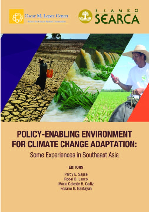 Policy-Enabling Environment for Climate Change Adaptation: Some Experiences in Southeast Asia