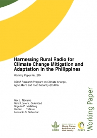Harnessing Rural Radio for Climate Change Mitigation and Adaptation in the Philippines