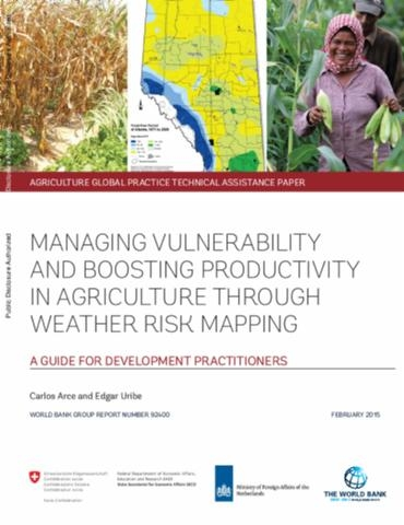 Managing Vulnerability and Boosting Productivity in Agriculture through Weather Risk Mapping