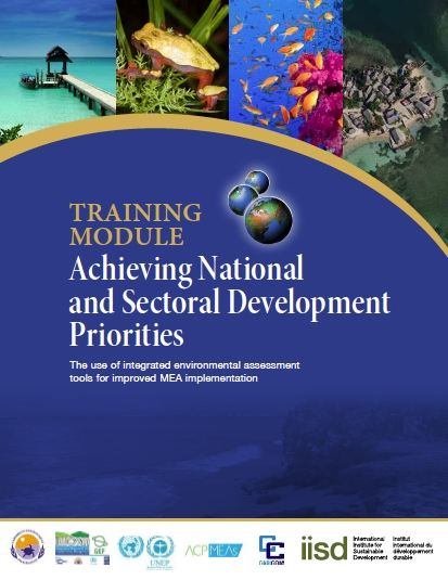 Training Module: Achieving National and Sectoral Development Priorities