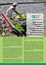 Agricultural Innovation: Options for Appropriate Technologies in Responding to Climate Change