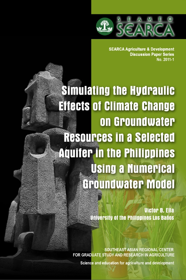 Simulating the Hydraulic Effects of Climate Change on Groundwater Resources in a Selected Aquifer in the Philippines Using a Numerical Groundwater Model