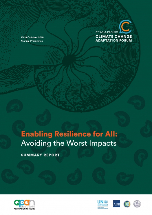 Enabling Resilience for All: Avoiding the Worst Impacts: Summary Report of the 6th Asia-Pacific Climate Change Adaptation Forum