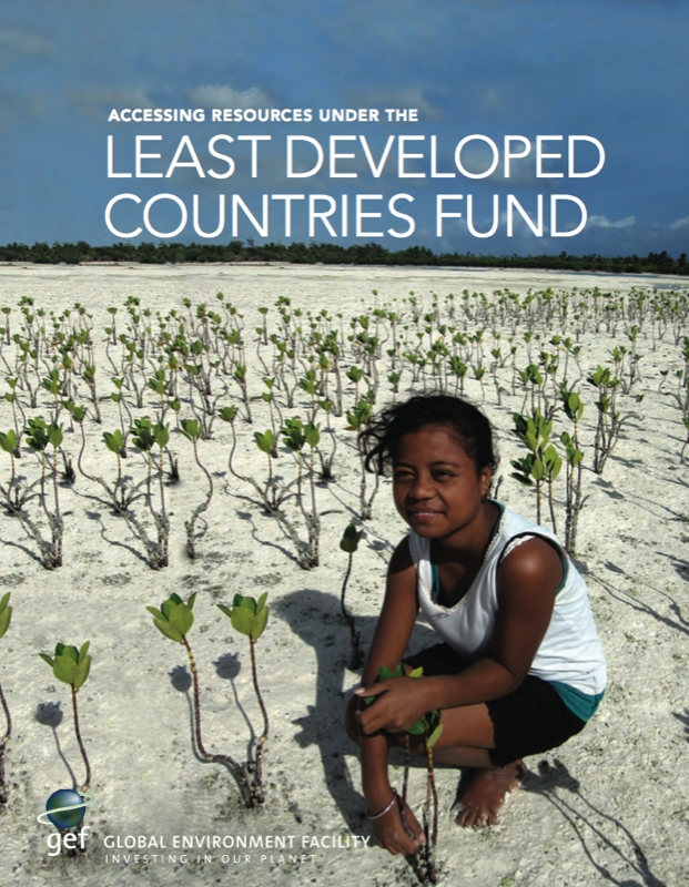 Road map for Accessing LDC Climate Fund