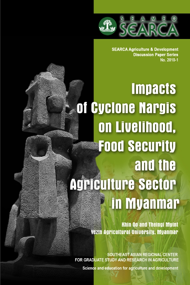 Impacts of Cyclone Nargis on Livelihood, Food Security and the Agriculture Sector in Myanmar