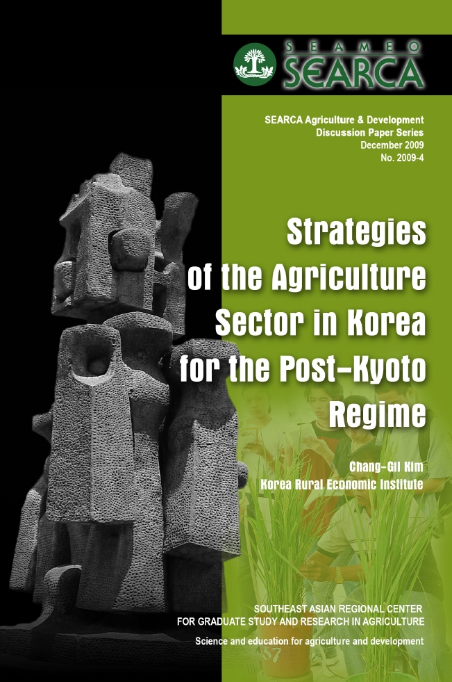 Strategies of the Agriculture Sector in Korea for the Post-Kyoto Regime