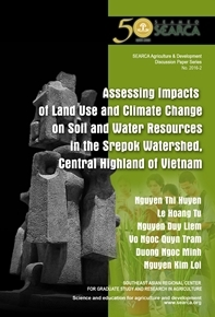 Assessing Impacts of Land Use and Climate Change on Soil and Water Resources in the Srepok Watershed, Central Highland of Vietnam