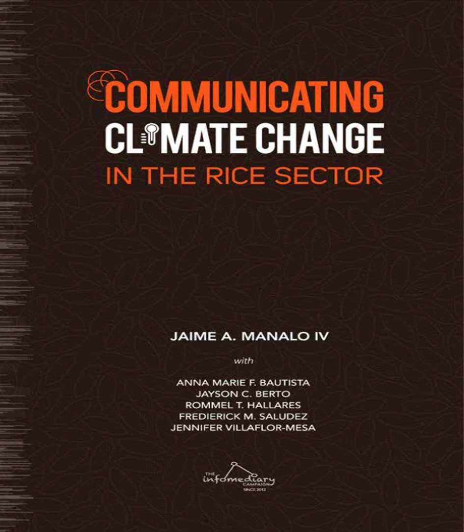 Communicating Climate Change in the Rice Sector
