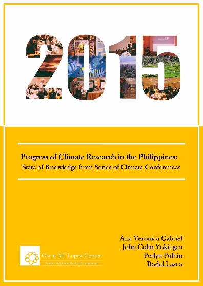 Progress of Climate Research in the Philippines: State of Knowledge from Series of Climate Conferences
