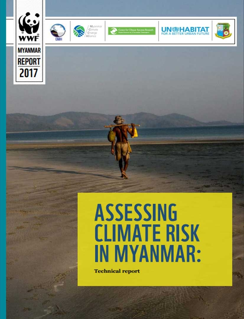 Assessing Climate Risk in Myanmar: Technical Report